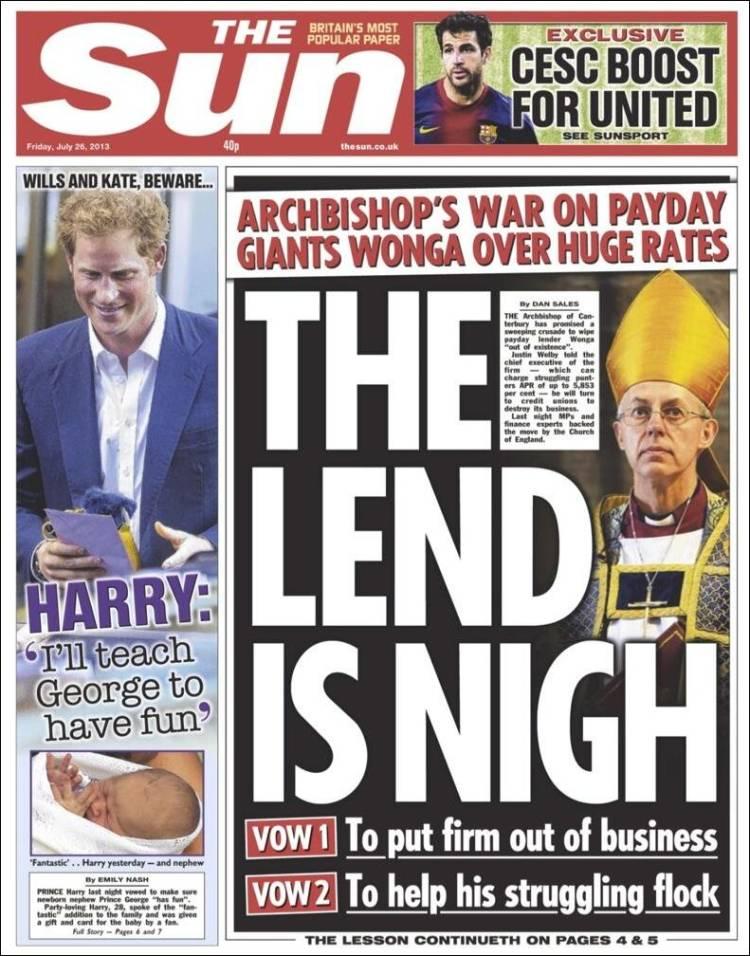 the sun paper uk